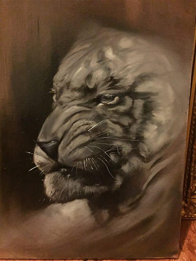 Giulio Canepa Art Pittura Tigre 01 001