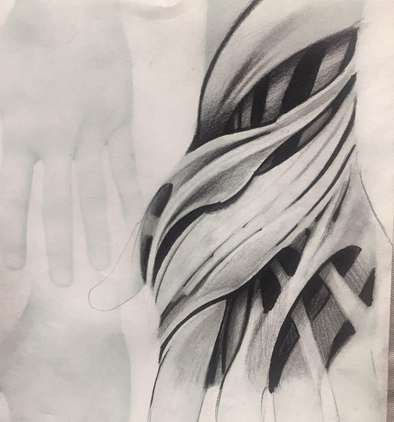 Giulio Canepa Art Sketch Bio Hand