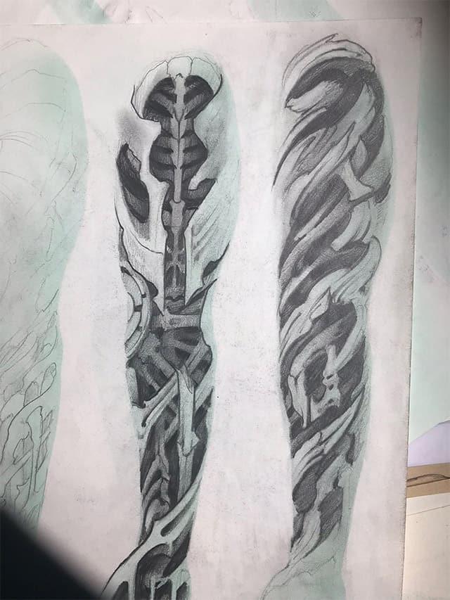 Giulio Canepa Art Sketch Bio Incastri