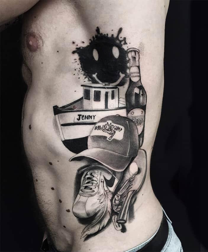Giulio Canepa Tattoo Forrest Gump