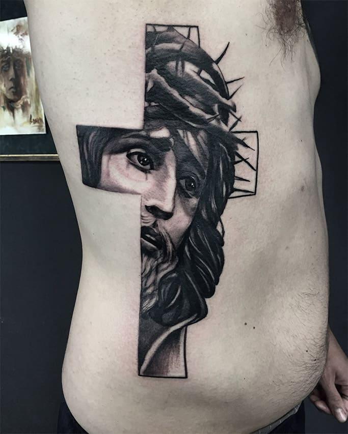 Giulio Canepa Tattoo Gesu
