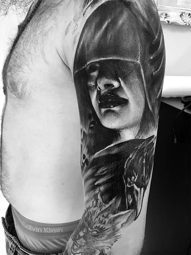 Giulio Canepa Tattoo Horror